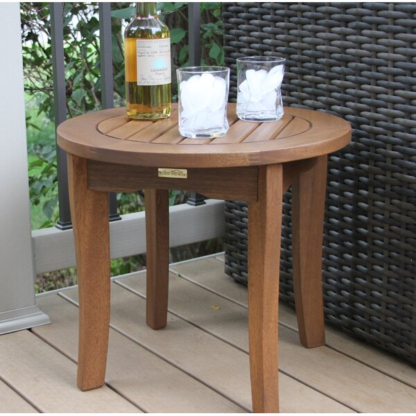 Caravelle Wood Side Table by Outdoor Interiors
