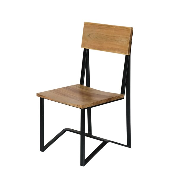Jayesh Solid Wood Dining Chair (Set of 2) by Union Rustic