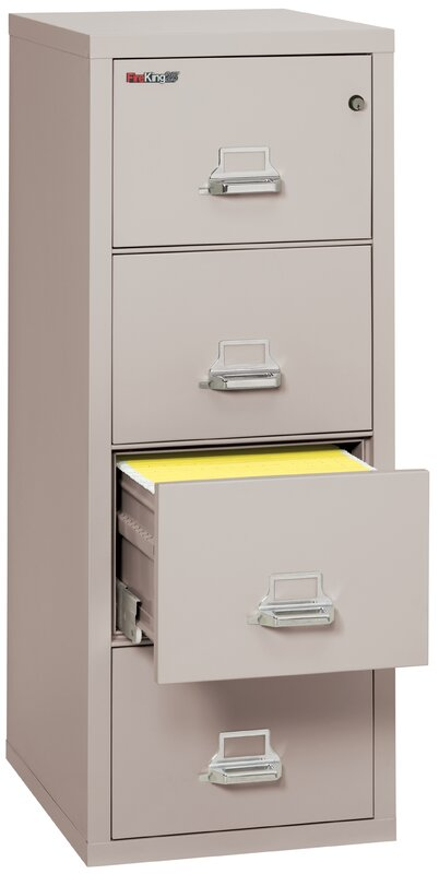 Amazing Fireproof 4 Drawer Vertical File Cabinet