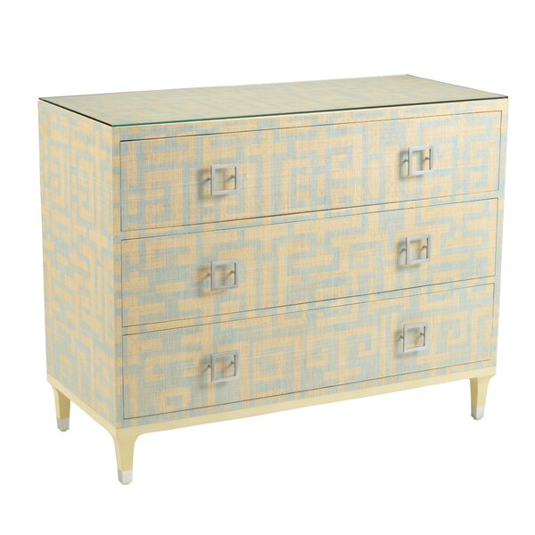 Jenny 3 Drawer Accent Chest by Wildwood