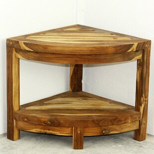 Merveilleux Lawless Thai Teak Corner End Table