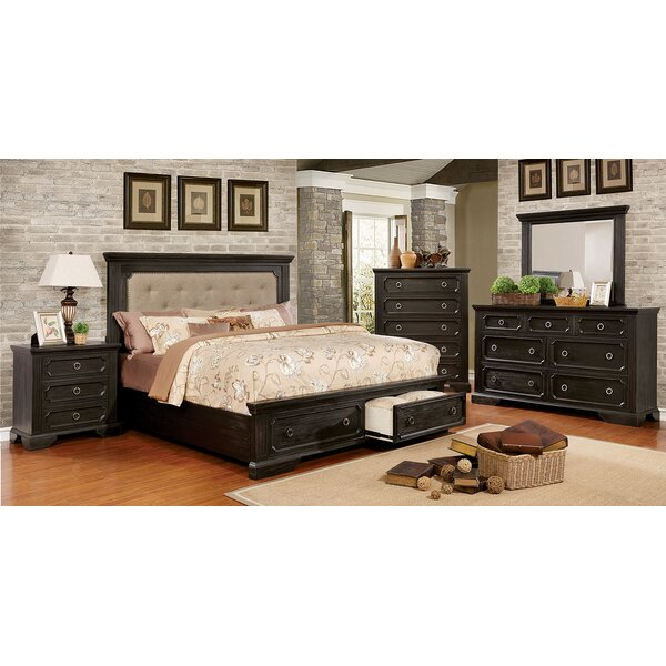 Clark 7 Drawer Double Dresser with Mirror by Andrew Home Studio