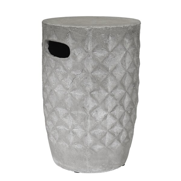 Fifi Ceramic Garden Stool by Bloomsbury Market
