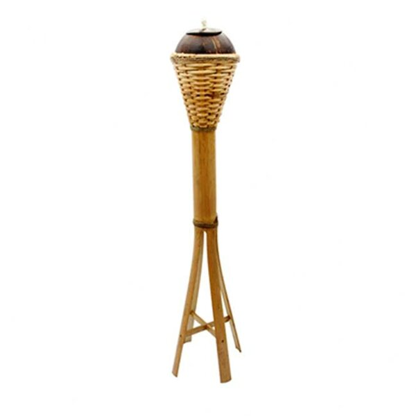 Coco Tiki Torch by Artisan Tradings