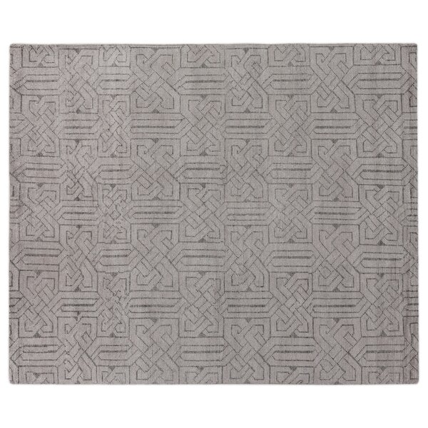 Prague Hand-Woven Silver Area Rug by Exquisite Rugs