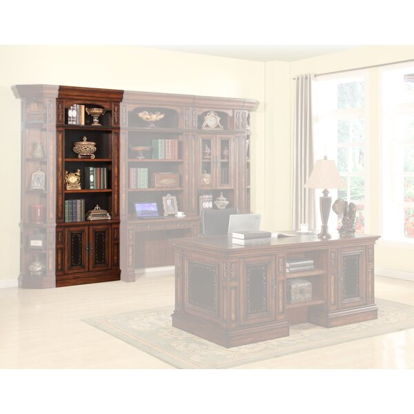 Lucien Standard Bookcase By Astoria Grand