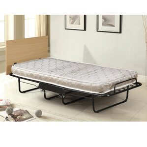Folding Bed with Mattress by Symple Stuff