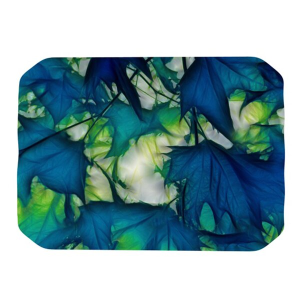Leaves Placemat by KESS InHouse