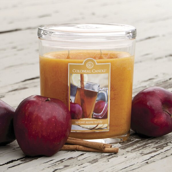 Spiced Apple Toddy Scent Jar Candle by Colonial Candle