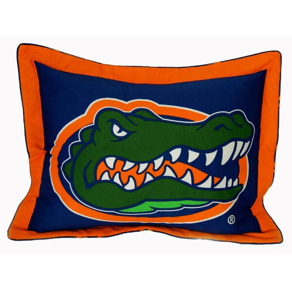 NCAA Florida Gators Pillow Sham by College Covers