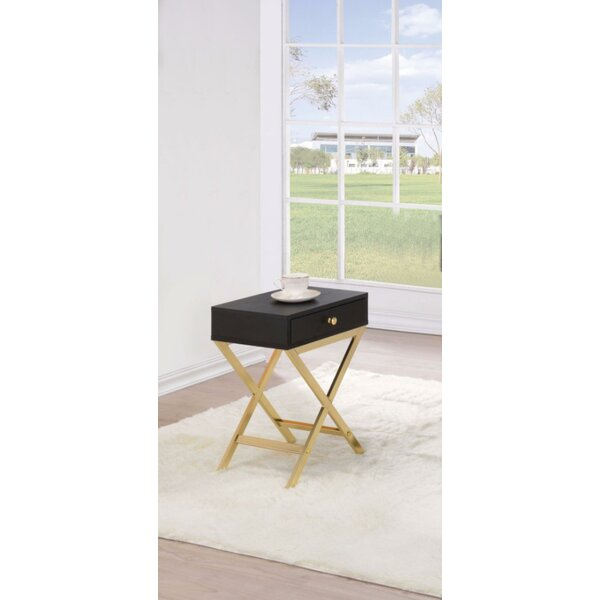 Durlston End Table with Storage by Ivy Bronx
