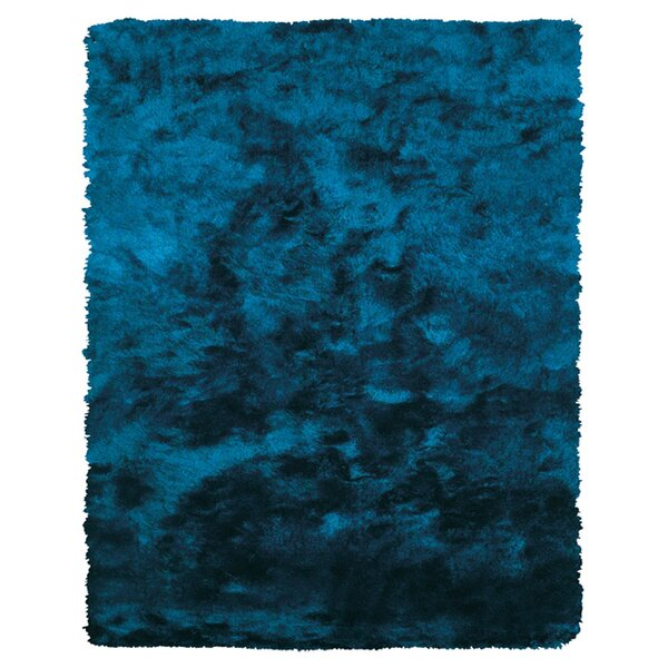 Mckee Hand-Tufted Blue Area Rug by The Conestoga Trading Co.
