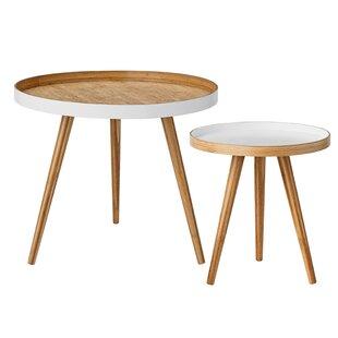 Find for Beveridge 2 Piece End Table Set ByLangley Street