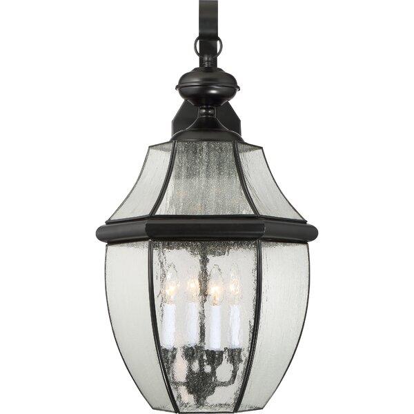 Washington Mews 4-Light Outdoor Wall Lantern by Charlton Home