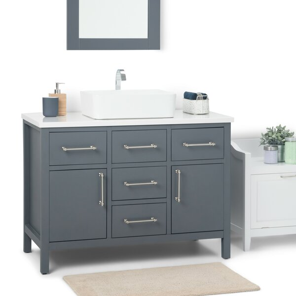 Patton 43 Single Bathroom Vanity by Simpli Home