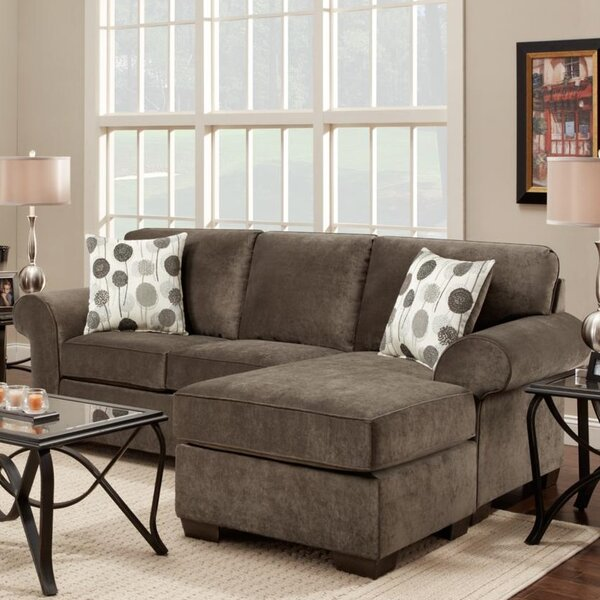 Excellent Reviews Radcliff Reversible Sectional with Ottoman by Red Barrel Studio by Red Barrel Studio