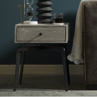 Almaraz End Table with Storage by Latitude Run SKU:EB618828 Details