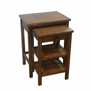 Alderman 2 Piece Nesting Tables by Red Barrel Studio