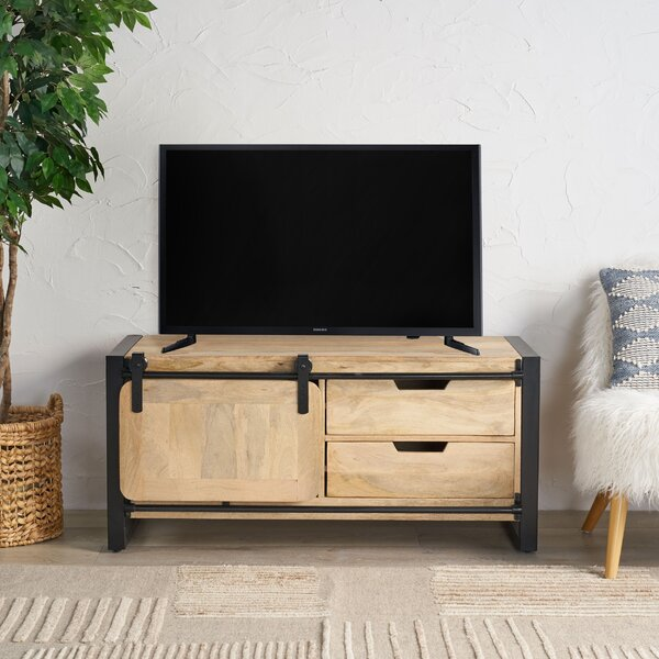 Fiecke Solid Wood TV Stand for TVs up to 55