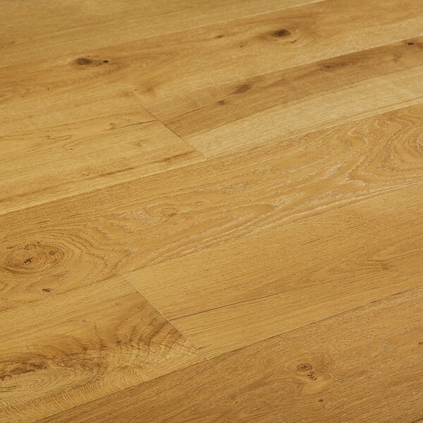Baltic 7-1/2 Engineered Oak Hardwood Flooring in Rustic Nature by Myfuncorp
