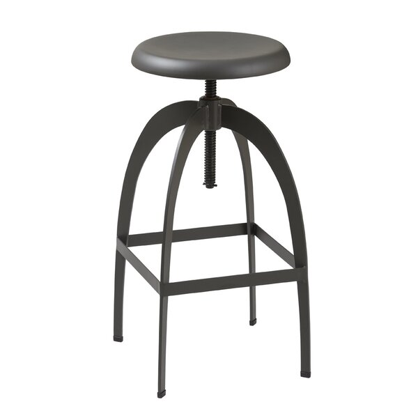 Indio Adjustable Height Swivel Bar Stool by Trent Austin Design