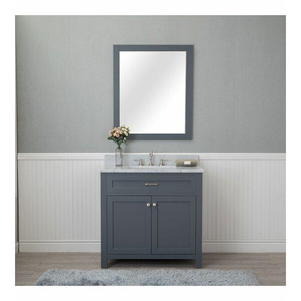 Daughtery 36 Single Bathroom Vanity Set with Mirror