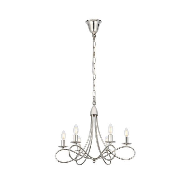 Diaz 6-Light Chandelier by Darby Home Co