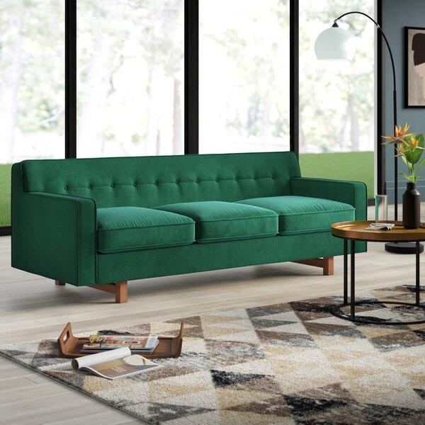 Lomonaco Mid Century Modern Classic Sofa by Mercury Row