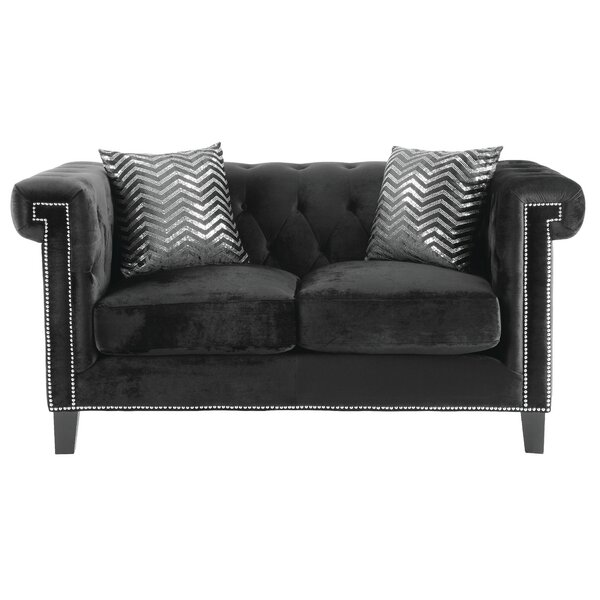 Grosvenor Chesterfield Loveseat by Willa Arlo Interiors