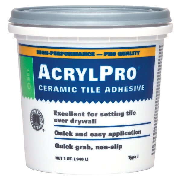 Tile Mastic 1 Quart (Set of 6) by Custom Building Products