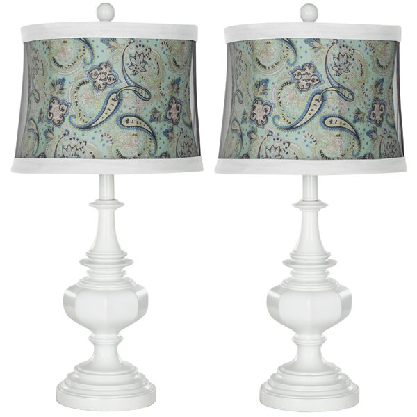 Gloss 24.5 Table Lamp (Set of 2) by Safavieh