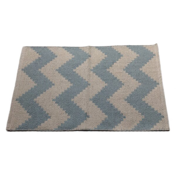 Chevron Metal Area Rug by Artim Home Textile