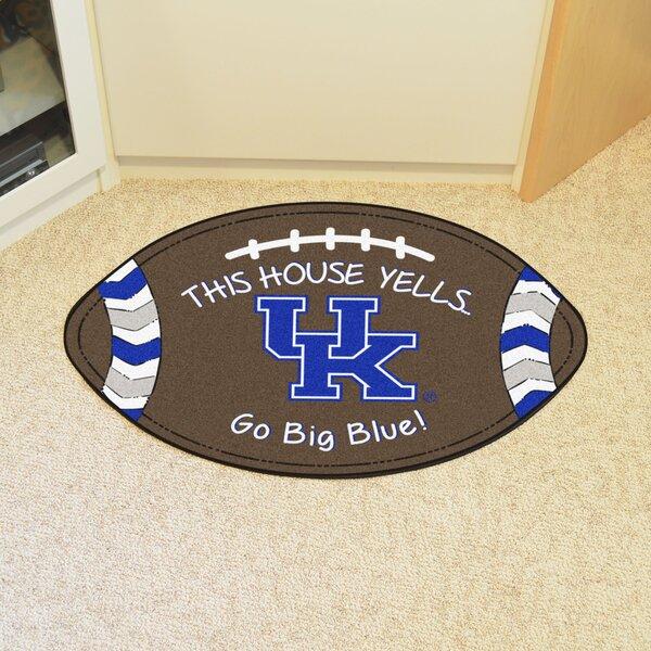 NCAA Kentucky Southern Football 35 in. x 22 in. Non-Slip Indoor Only Door Mat
