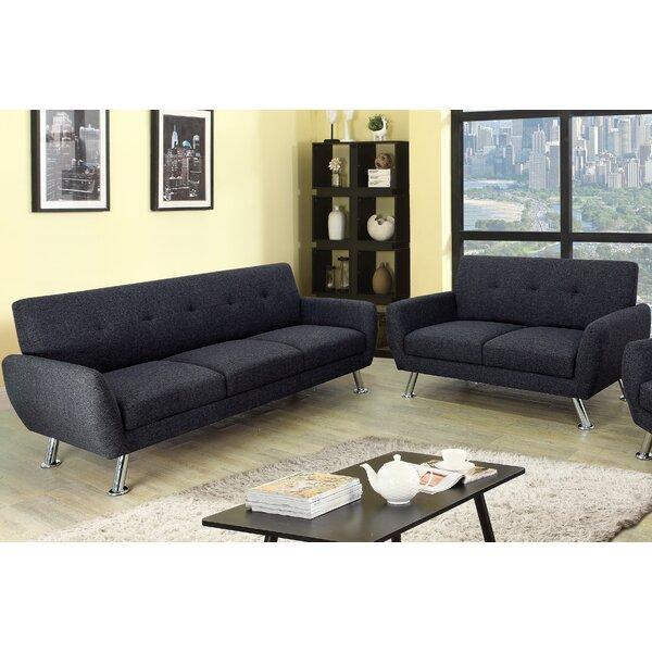 Lindy 2 Piece Living Room Set by Ebern Designs Ebern Designs