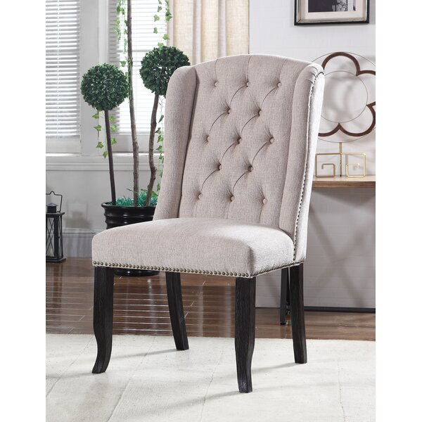 Hilaire Upholstered Dining Chair (Set of 2) by Darby Home Co