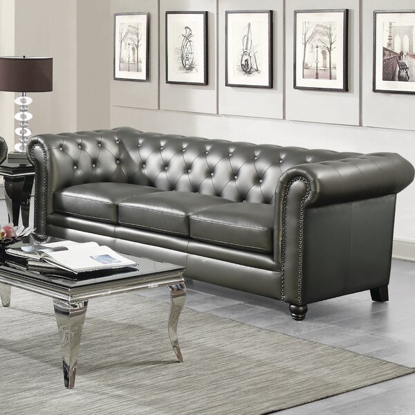 Seevers Chesterfield Sofa by Darby Home Co