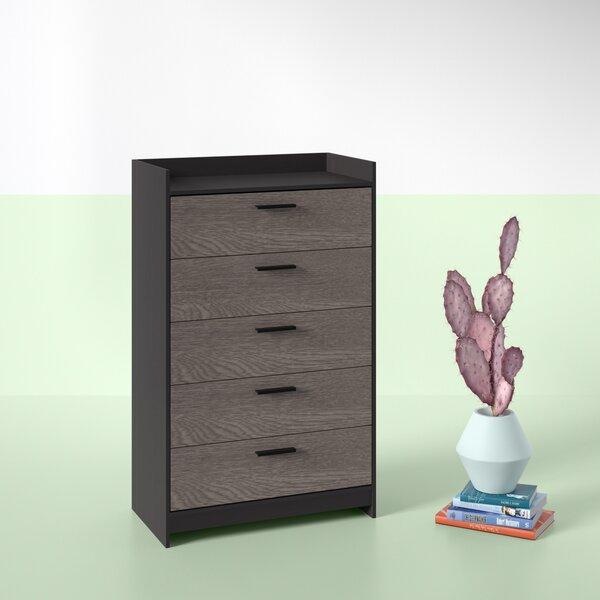 Find Nowell 5 Drawer Chest By Hashtag Home Cheap
