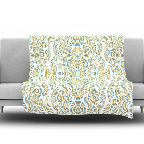 Infinite Thoughts Throw Blanket by KESS InHouse