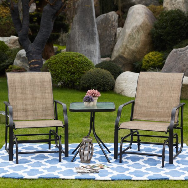 Tague 3 Piece Seating Group by Winston Porter