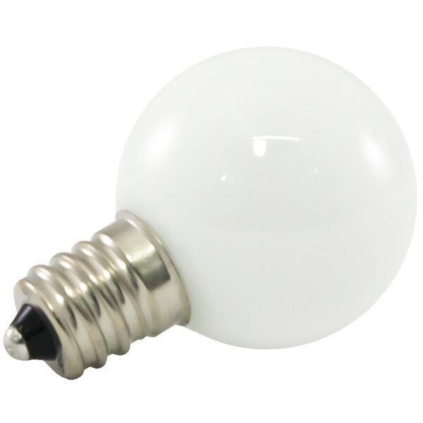 1W Frosted E12/Candelabra LED Light Bulb (Set of 500) by American Lighting LLC