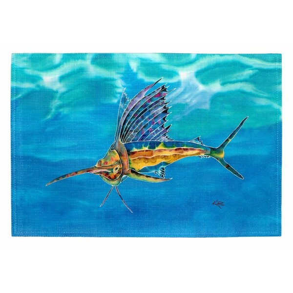 Sailfish Placemat (Set of 2) by Live Free