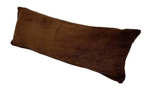 Body Pillow with Super Soft Sherpa/Microplush Zippered Pillowcase by Alwyn Home