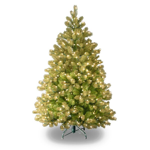 Downswept Douglas 4.5 Green Fir Artificial Christmas Tree with 450 Clear Lights and Stand by The Holiday Aisle
