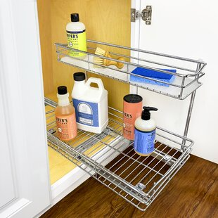 Slide Out Under Sink 11.5 x 18 Pull Out Drawer