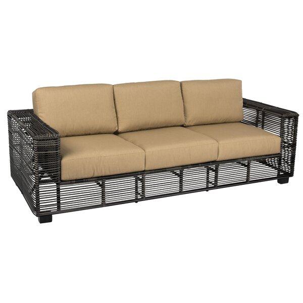 Monroe 3 Piece Deep Seating Group with Cushions by Woodard