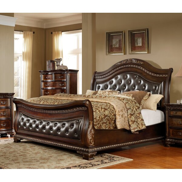 Woolery King Upholstered Sleigh Bed by Astoria Grand