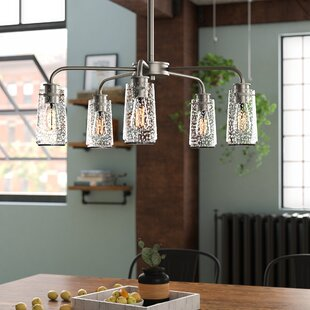 Online Reviews Olle 5-Light Shaded Chandelier By 17 Stories