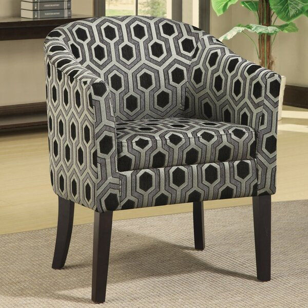 Dalley Barrel Chair by Wrought Studio