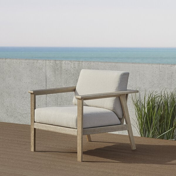 Speer Casual Patio Chair with Cushions by Real Flame Real Flame