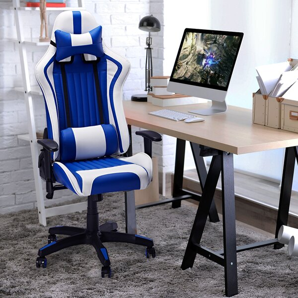 Osorio Ergonomic Leather Gaming Chair by Latitude Run
